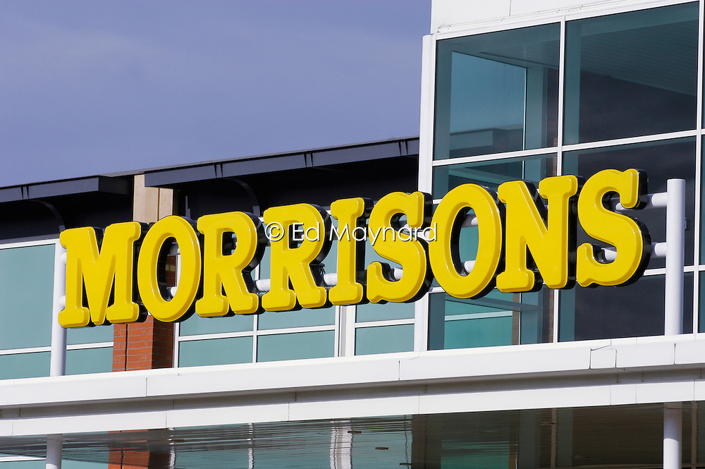 Morrisons supermarket, Leicester, England, United Kingdom.