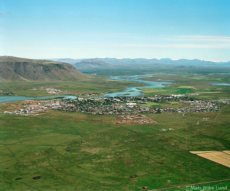 Selfoss / Árborg frá 1998 / Arborg since 1998.