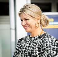 Katwijk, 25-09-2016<br /> <br /> Queen Maxima attends Future of Finance Conference. <br /> <br /> Royalportraits Europe/Bernard Ruebsamen