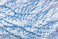 McCarty Glacier as seen during a flightsee from Homer, Alaska with Homer Air.