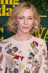 © Licensed to London News Pictures. 03/12/2017. London, UK. CATE BLANCHETT attends the London Evening Standard Theatre Awards 2017 held at the Theatre Royal, Dury Lane. Photo credit: Ray Tang/LNP