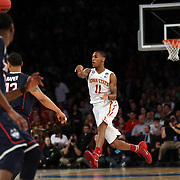 Monté Morris, Iowa, in action during the Iowa State Cyclones Vs Connecticut Huskies basketball game during the 2014 NCAA Division 1 Men's Basketball Championship, East Regional at Madison Square Garden, New York, USA. 28th March 2014. Photo Tim Clayton