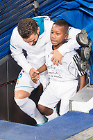 Real Madrid's Nacho Fernandez during XXXVIII Santiago Bernabeu Trophy at Santiago Bernabeu Stadium in Madrid, Spain August 23, 2017. (ALTERPHOTOS/Borja B.Hojas)