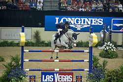 Deusser Daniel, (GER), Cornet D Amour<br /> Longines FEI World Cup™ Jumping Final III round 1<br /> Las Vegas 2015<br />  © Hippo Foto - Dirk Caremans<br /> 19/04/15
