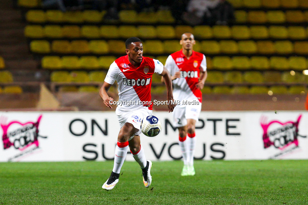 Anhony MARTIAL  - 14.01.2015 - Monaco / Guingamp - 1/4Finale Coupe de la Ligue<br /> Photo : Jean Christophe Magnenet / Icon Sport