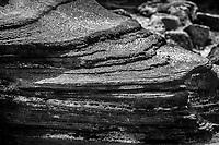 Santiago Island - Volcanic Rock Landscpae