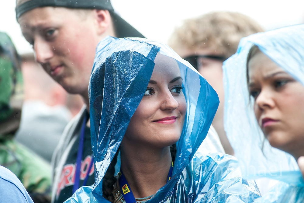 The Strangers play the main stage.<br /> Saturday, T in the Park 2014.<br /> © Michael Schofield.