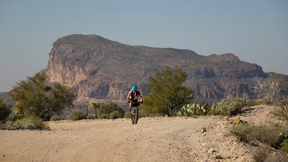 Gila River Ramble Mountain bikepacking tour, Arizona