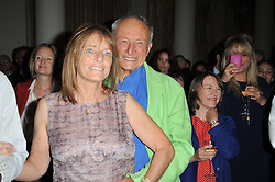 RUTH ROGERS owner and co-founder of The River Cafe and her husband LORD ROGERS at the Tatler Restaurant Awards 2011 held at the Langham Hotel, Portland Place, London on 9th May 2011.