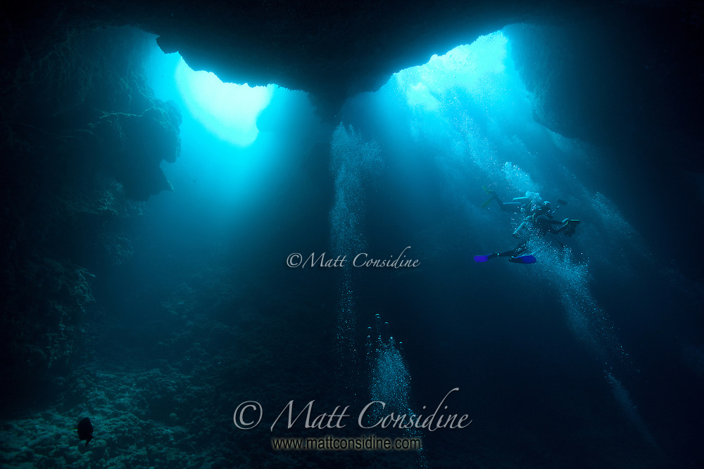 The Entrance to Blue Holes, Palau Micronesia (Photo by Matt Considine - Images of Asia Collection)