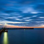 Potsea Pier on the Mornington Peninsula at dawn,