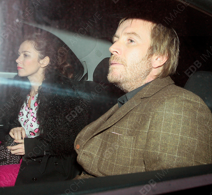 11.DECEMBER.2012. LONDON<br /> <br /> ANNA FRIEL AND RHYS IFANS AT CIPRIANI'S, LONDON<br /> <br /> BYLINE: EDBIMAGEARCHIVE.CO.UK<br /> <br /> *THIS IMAGE IS STRICTLY FOR UK NEWSPAPERS AND MAGAZINES ONLY*<br /> *FOR WORLD WIDE SALES AND WEB USE PLEASE CONTACT EDBIMAGEARCHIVE - 0208 954 5968*