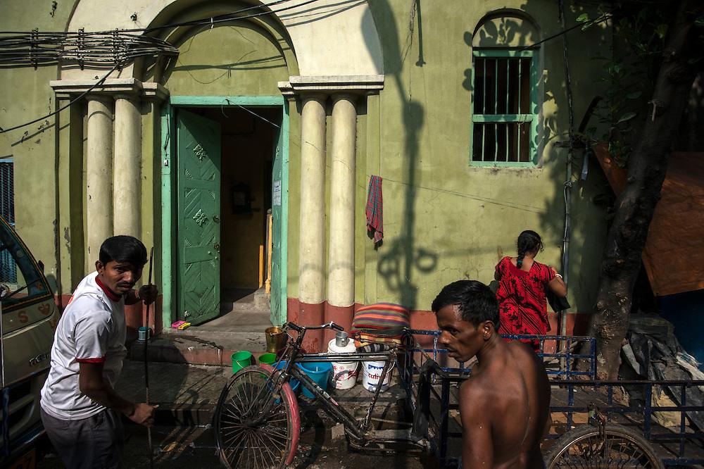 Calcutta street scene
