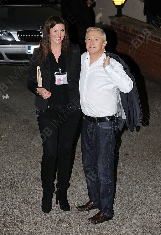 14.OCTOBER.2012. LONDON<br /> <br /> JUDGE LOUIS WALSH LEAVING THE X-FACTOR STUDIOS AFTER THE RESULTS SHOW.<br /> <br /> BYLINE: EDBIMAGEARCHIVE.CO.UK<br /> <br /> *THIS IMAGE IS STRICTLY FOR UK NEWSPAPERS AND MAGAZINES ONLY*<br /> *FOR WORLD WIDE SALES AND WEB USE PLEASE CONTACT EDBIMAGEARCHIVE - 0208 954 5968*