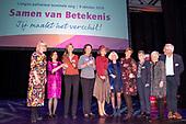 Koningin Maxima bij congres Vrijwilligers Palliatieve Terminale Zorg Nederland