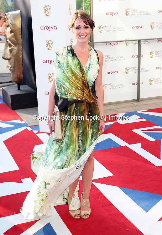 Suranne Jones arriving at the British Academy Television Awards in London, Sunday , 27th May 2012.  Photo by: Stephen Lock / i-Images