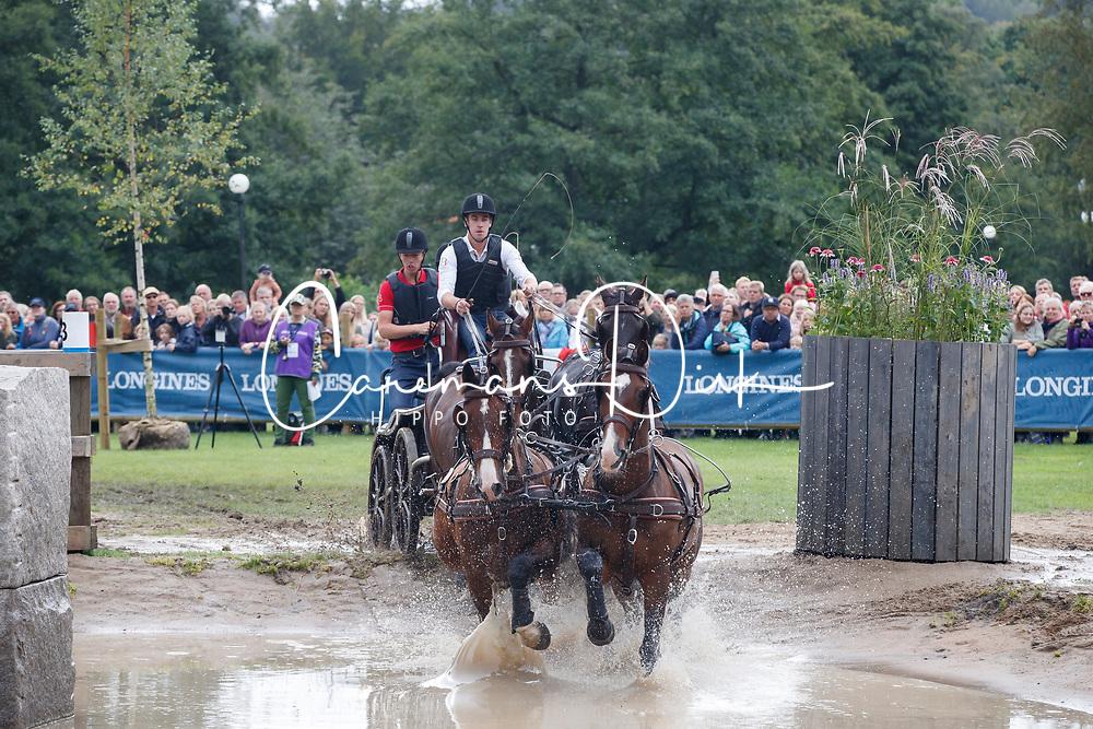Degrieck Dries, BEL, Charlie, Dirk, Garrelt, Grenadier<br /> FEI European Driving Championships - Goteborg 2017 <br /> &copy; Hippo Foto - Dirk Caremans<br /> 26/08/2017,