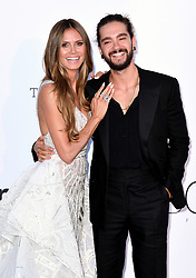 Heidi Klum and Tom Kaulitz attending the 25th amFAR Gala held at the Hotel du Cap-Eden-Roc in Antibes as part of the 71st Cannes Film Festival