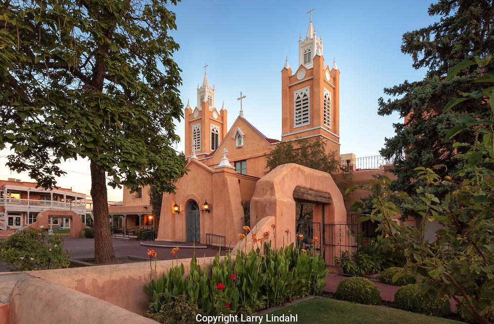 San Felipe de Neri Catholic Church, Old Town, Albuquerque, New Mexcio, Route 66,
