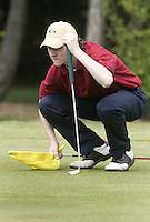 ARNHEM - Tim Sluiter.    Voorjaarswedstrijden Golf heren op de Rosendaelsche Golfclub COPYRIGHT KOEN SUYK