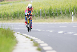 20.06.2015, Moselle, LUX, IRONMAN 70.3 Luxembourg, im Bild Natascha Schmitt (Deutschland) // during IRONMAN 70.3, Luxembourg at Moselle, Luxembourg on 2015/06/20. EXPA Pictures &copy; 2015, PhotoCredit: EXPA/ Eibner-Pressefoto/ Schueler<br /> <br /> *****ATTENTION - OUT of GER*****