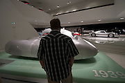 The Original Porsche design at the Porsche Museum in Stuttgart, Germany.