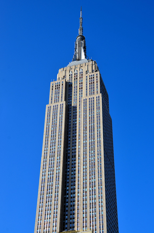 Empire State Building in New York City, New York<br />