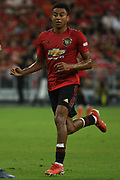Manchester United's Jesse Lingard during an International Champions Cup game won by Manchester United 1-0, Saturday, July 20, 2019, in Singapore. (Kim Teo/Image of Sport)