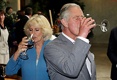 Nelson-Royals Prince Charles and Camilla at Mahana Winery