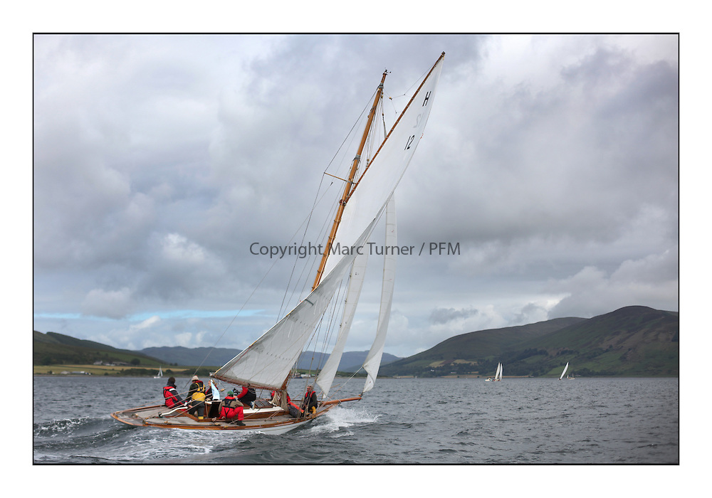Day three of the Fife Regatta, Cruise up the Kyles of Bute to Tighnabruaich<br /> <br /> The Truant, Ross Ryan, GBR, Gaff Cutter 8mR, Wm Fife 3rd, 1910<br /> <br /> * The William Fife designed Yachts return to the birthplace of these historic yachts, the Scotland&rsquo;s pre-eminent yacht designer and builder for the 4th Fife Regatta on the Clyde 28th June&ndash;5th July 2013<br /> <br /> More information is available on the website: www.fiferegatta.com