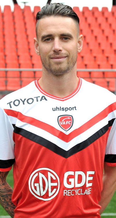 Anthony LE TALLEC - 19.10.2014 - Portrait Officiel Valenciennes - Ligue 2<br /> Photo : Icon Sport