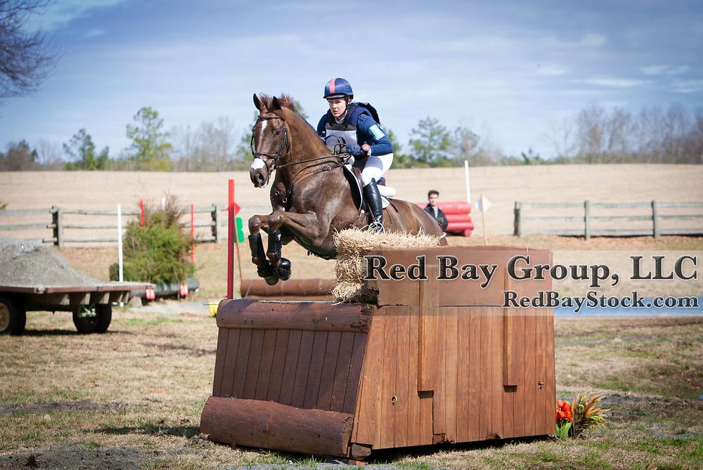Allison Springer and Arthur at the 2014 Pine Top Farm Advanced Horse Trials in Thomson, Georgia.