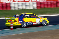 #19 Kris Nissen (DNK), Abt Sportsline, Audi A4 Quattro during the STW race at Nürburgring, Nürburg, Rhineland-Palatinate, Germany. April 25 1997. World Copyright Peter Taylor. Copy of publication required for printed pictures.  Every used picture is fee-liable. http://archive.petertaylor-photographic.co.uk