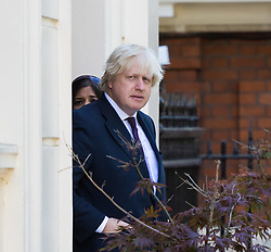 London, May 26th 2017. US Secretary of State Rex Tillerson meets British Foreign Secretary Boris Johns on at his London residence. The visit comes in the wake of British fury over the leaking of sensitive images related to the Manchester bombing by US security services to the New York Times.
