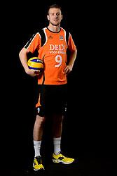 25-04-2013 VOLLEYBAL: NEDERLANDS MANNEN VOLLEYBALTEAM: ROTTERDAM<br /> Selectie Oranje mannen seizoen 2013-2014 / Ewoud Gommans<br /> ©2013-FotoHoogendoorn.nl
