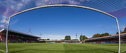 General view of The People's Pension Stadium ahead of the FA Women's Super League match between Brighton and Hove Albion Women and Chelsea at The People's Pension Stadium, Crawley, England on 15 September 2019.
