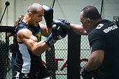 UFC 131 Workouts