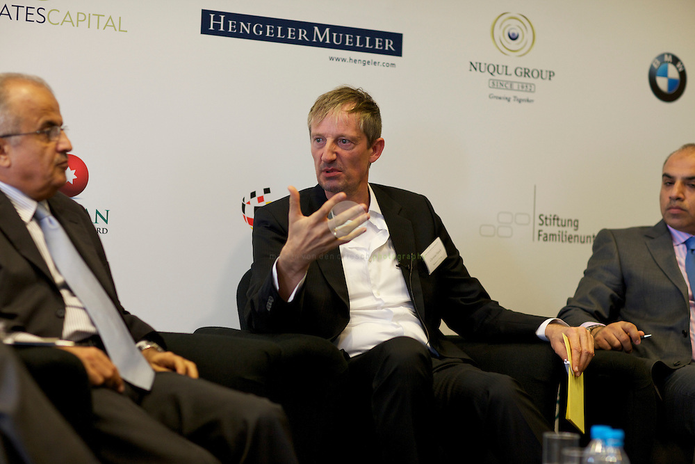 Panel Discussion III: Chances and Challenges. The Middle East, North Africa and Gulf region between socio-economic potentials and political-strategic dynamics. Moderator: Christian Peter Hanelt, Bertelsmann Stiftung.