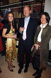 Left to right, PIPPA MIDDLETON and MR & MRS JAMES PALMER-TOMPKINSON at a party to celebrate the publication of 'Young Stalin' by Simon Sebag-Montefiore at Asprey, New Bond Street, London on 14th May 2007.<br />