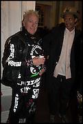 SPIZZ; DAN MACMILLAN, Private view, Paul Simonon- Wot no Bike, ICA Nash and Brandon Rooms, London. 20 January 2015