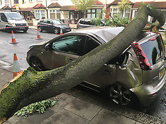LNP_TREE_CRUSHES_CAR_EAST_HAM_20th_JUABK