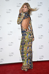 September 24, 2018 - New York, NY, USA - September 24, 2018  New York City..Ashley Haas attending Metropolitan Opera Opening Night at Lincoln Center on September 24, 2018 in New York City. (Credit Image: © Kristin Callahan/Ace Pictures via ZUMA Press)