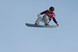 February 19, 2018 - Pyeongchang, SOUTH KOREA - 180219 Hailey Langland of USA competes in the Women's Big Air Qualification during day ten of the 2018 Winter Olympics on February 19, 2018 in Pyeongchang..Photo: Carl Sandin / BILDBYRN / kod CS / 57999_306 (Credit Image: © Carl Sandin/Bildbyran via ZUMA Press)
