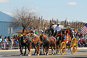 The parade at the Fiesta de Los Vaqueros, an annual rodeo in Tucson, Arizona, USA, claims to be the longest non-motorized parade in the world.