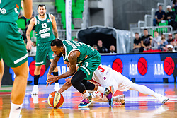 Ryan Jamar Boatright of KK Cedevita Olimpija during ABA basketball league round 9 match between teams KK Cedevita Olimpija and KK Crvena Zvezda MTS in Arena Stozice, 1. December, 2019, Ljubljana, Slovenia. Photo by Grega Valancic / Sportida