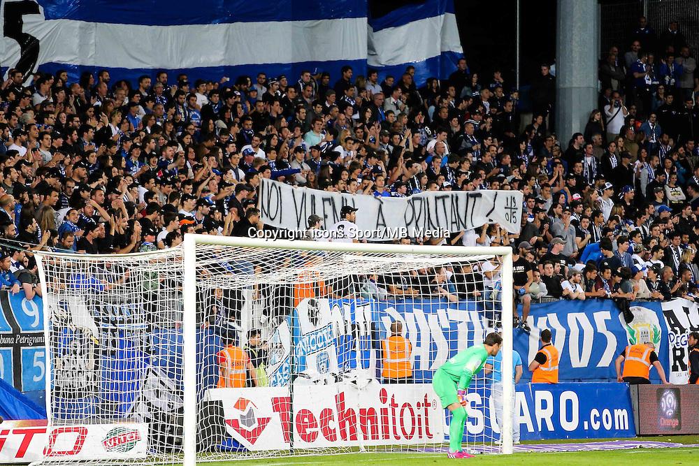 Supporters Bastia - Ghislain PRINTANT - 16.05.2015 - Bastia / Caen - 37eme journee de Ligue 1<br />Photo : Michel Maestracci / Icon Sport