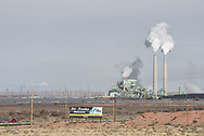 Cholla Power Plant, Coal Fired, near Holbrook,Arizona,USA<br /> RAW America