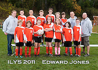 Inter Lakes Youth Soccer League Edward Jones Team October 15, 2011.