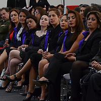 Toluca, México (Febrero 16, 2017).- Adrián Fuentes Villalobos, titular de SEDECO tomó protesta al Consejo Directivo de la Asociación Mexicana de Mujeres Empresarias Capítulo Estado de México.  Agencia MVT / José Hernández