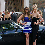 Hurlingham Club ,London, England, UK. 10th July, 2017. Holly Jenning,Charlie Fisher attend The Grand Prix Ball attracted a host of star-studded celebrity guests last night at Hurlingham Club , including Formula 1 drivers as well as iconic Formula 1 cars. Guests mingled with the elite whist being enterained with live performances by award winning UK artists and DJs ahead of the British Grand Prix at Silverstone.